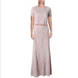 NWOT BCBGMaxAzria Maris Lace Illusion Skirt